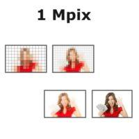 1,3 Mpix (megapixely)
