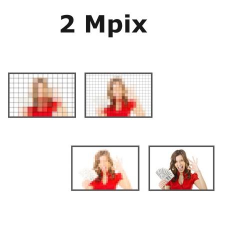 2 Mpix (megapixely)