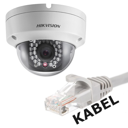 IP kamery - připojení jen po kabelu