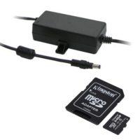 Příslušenství (zdroj, SD karty, switche...)